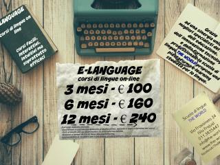 corsi lingue online torino