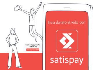 Iscriviti e paga con Satispay
